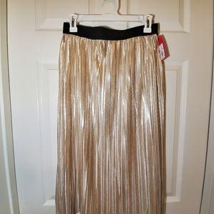 Gold/Metallic Skirt